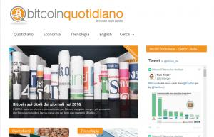 IL QUOTIDIANO DEL BITCOIN